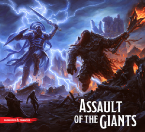 Dungeons & Dragons Board Game : Assault of the Giants